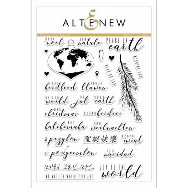 Altenew Peace on Earth Stamp Set