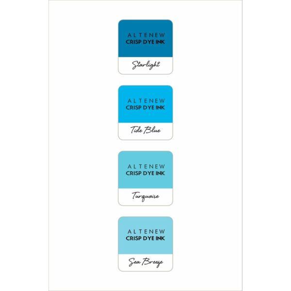 Altenew Mini Ink Cube Set - Deep Blue Seas