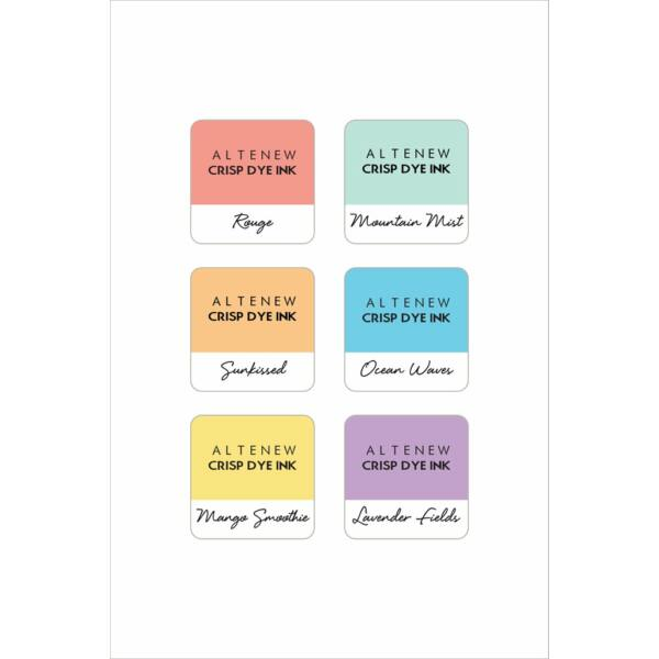 Altenew Soft Pastel 6 Mini Cube Set