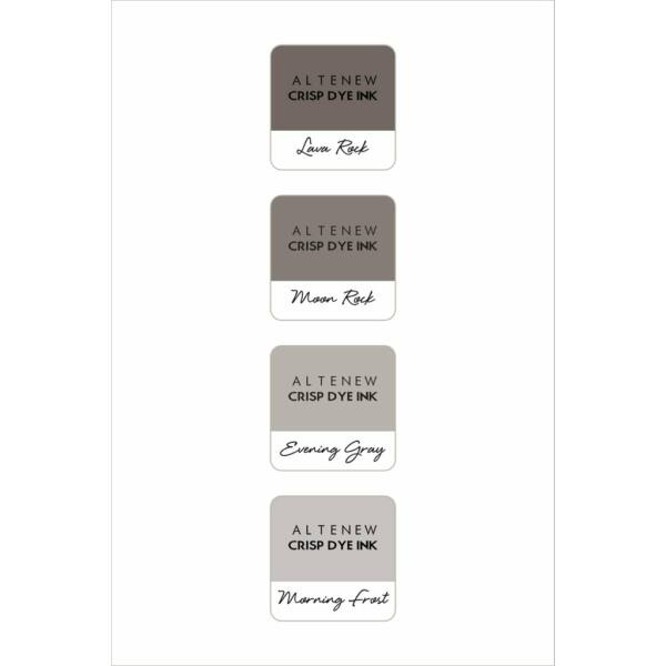 Altenew Mini Ink Cube Set - Warm Gray