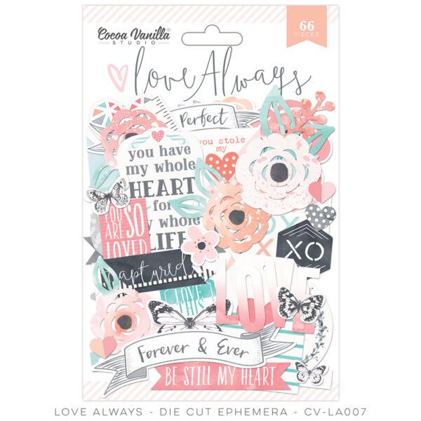 Cocoa Vanilla Studio - Love Always Ephemera (66 pieces)