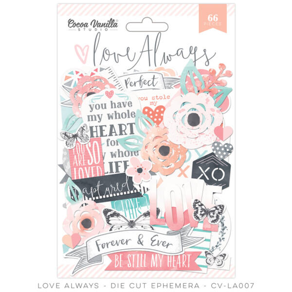 Cocoa Vanilla Studio - Love Always Ephemera (66 pieces)