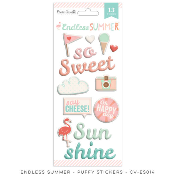 Cocoa Vanilla Studio - Endless Summer Puffy Stickers