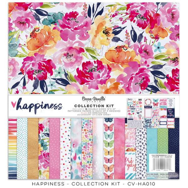 Cocoa Vanilla Studio - Happiness 12x12 Collection Kit