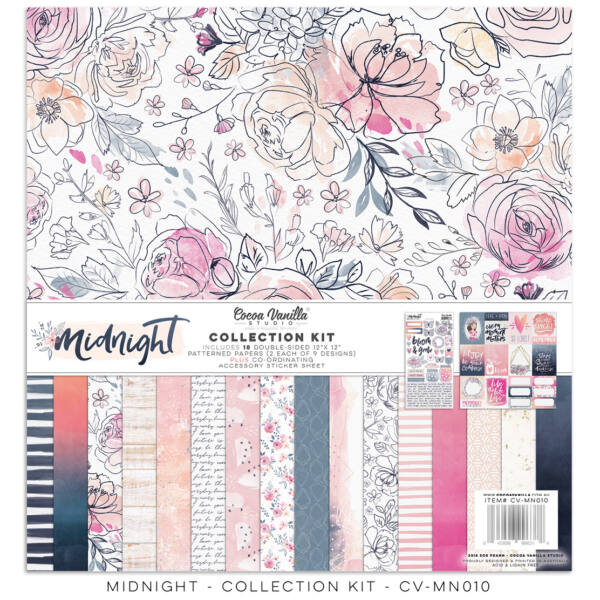 Cocoa Vanilla Studio - Midnight 12x12 Collection Kit