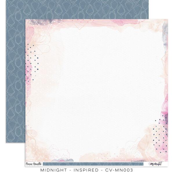 Cocoa Vanilla Studio - Midnight 12x12 Paper - Inspired
