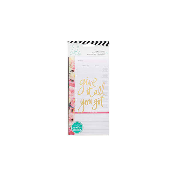 Heidi Swapp - Memory Planner 2017 - Planner Inserts - Personal - Meal Plan