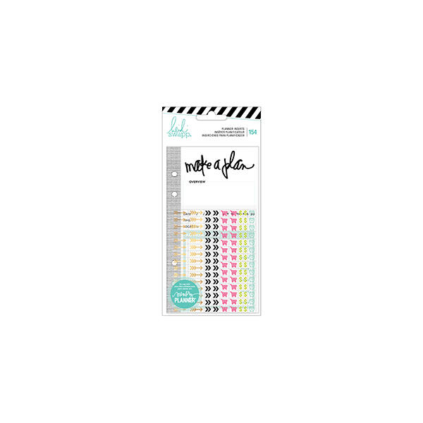 Heidi Swapp - Memory Planner 2017 - Planner Inserts - Events