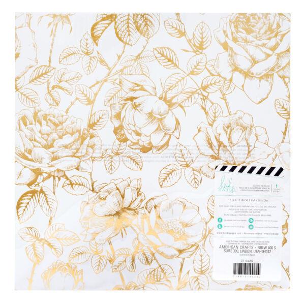 Heidi Swapp - Emerson Lane 12x12 Vellum Specialty Paper - Floral