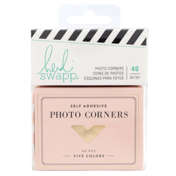 Heidi Swapp - Emerson Lane - Photo Corners (40 Piece)