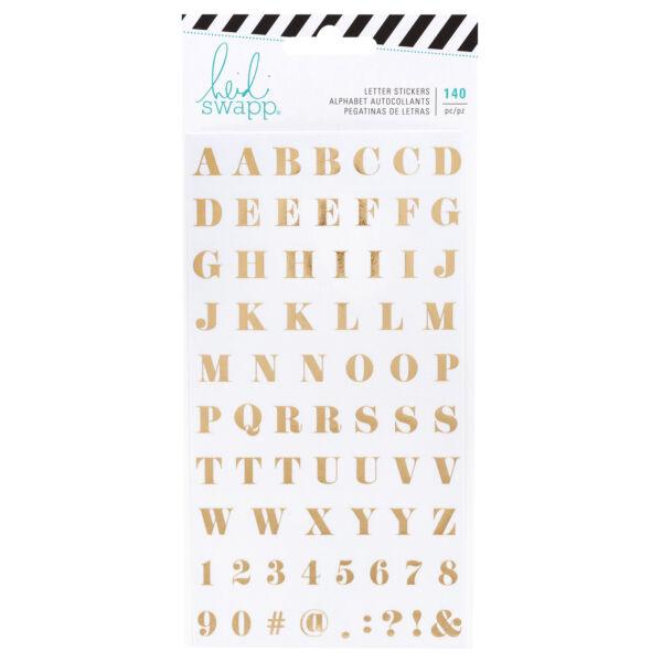 Heidi Swapp - Emerson Lane - Alphabet Stickers Washi (140 Piece)