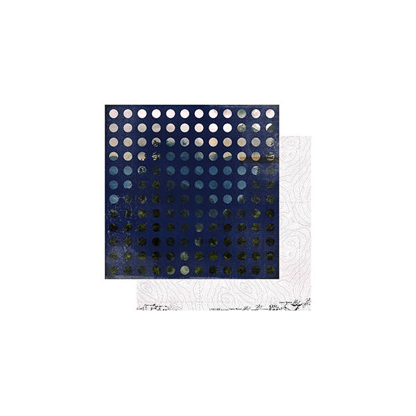 Heidi Swapp - Hawthorne 12x12 Paper - Dreamscape