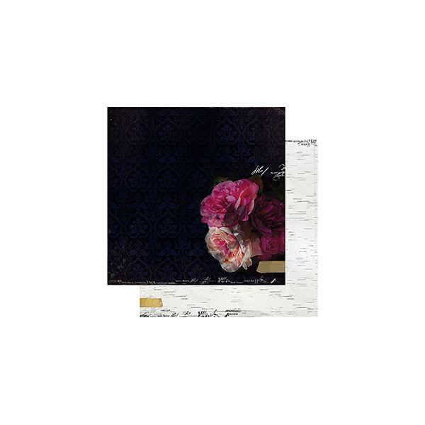 Heidi Swapp - Hawthorne 12x12 Paper - Midnight