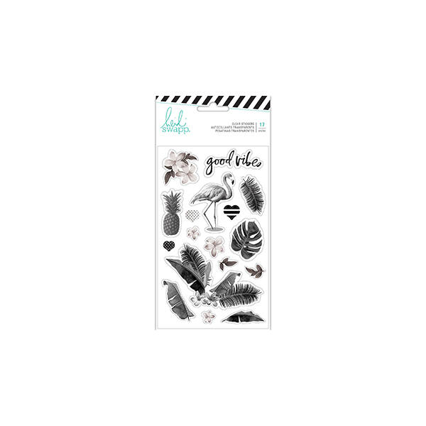 Heidi Swapp - Pineapple Crush Clear Stickers