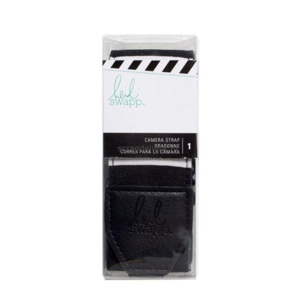 Heidi Swapp InstaLife Camera Strap Black & White