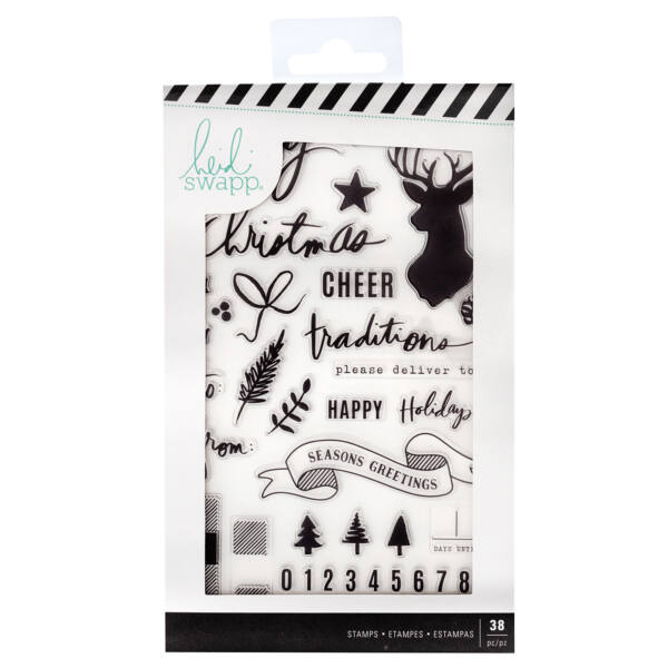 Heidi Swapp - Winter Wonderland Clear Stamps (38 Piece)