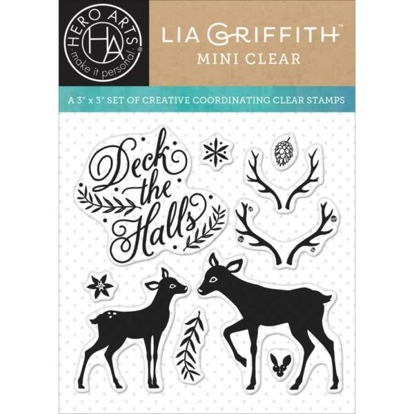 Hero Arts By Lia Deck The Halls Clear Stamps