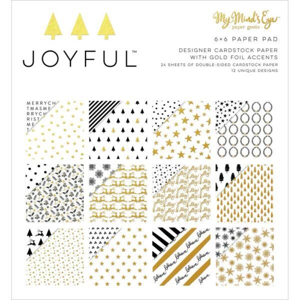 My Mind's Eye - Joyful 6x6 Paper Pad