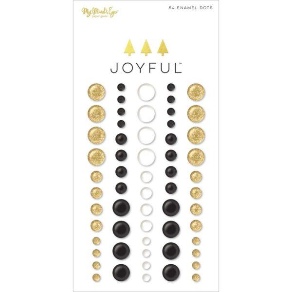 My Mind's Eye - Joyful Enamel Dots