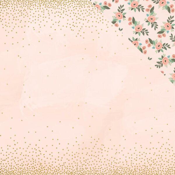 My Mind's Eye - Bliss 12x12 Paper - Confetti