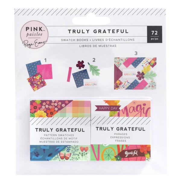 Pink Paislee - Paige Evans - Truly Grateful 2x2 Swatch Pads (72 Sheets)