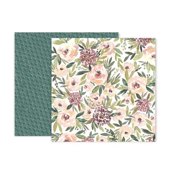 Pink Paislee - Auburn Lane 12x12 Paper - 03