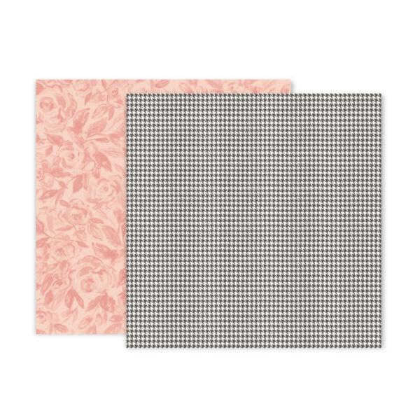 Pink Paislee - Auburn Lane 12x12 Paper - 09