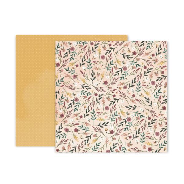 Pink Paislee - Auburn Lane 12x12 Paper - 10