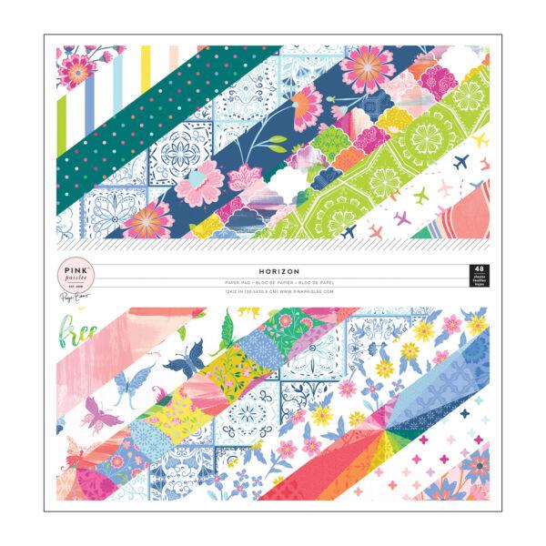 Pink Paislee - Paige Evans - Horizon 12x12 Paper Pad (48 Sheets)