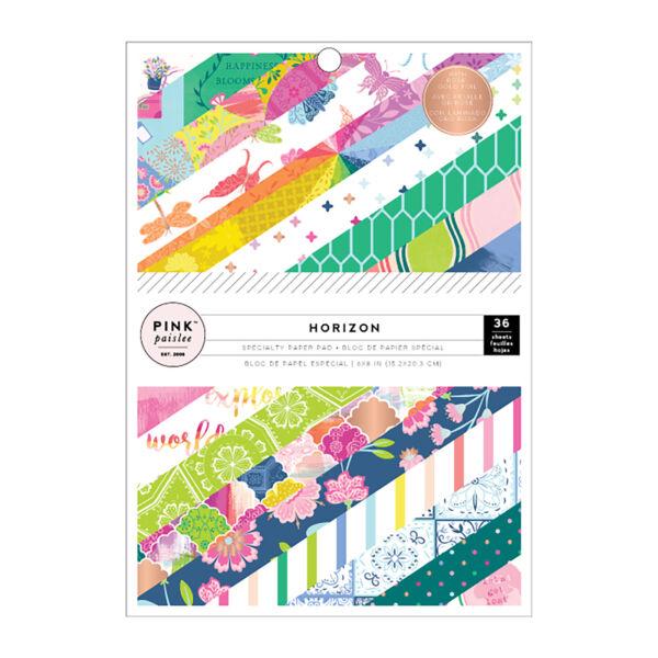 Pink Paislee - Paige Evans - Horizon 6x8 Paper Pad (36 Sheets)