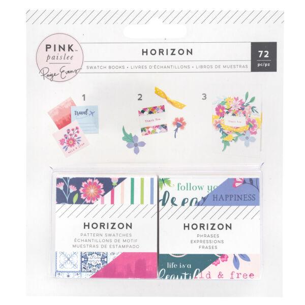 Pink Paislee - Paige Evans - Horizon 2x2 Paper Pad (72 Piece)