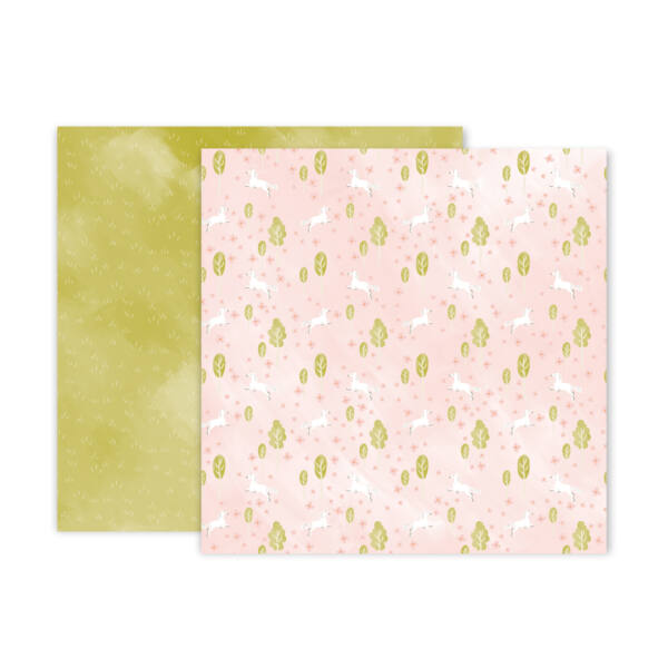 Pink Paislee - Little Adventurer 12x12 Patterned Paper - Paper 5