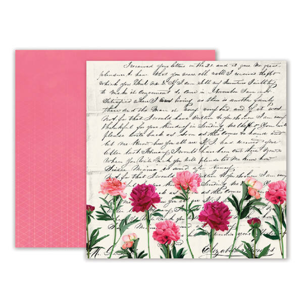 Pink Paislee - Moonstruck 12 x 12 Double Sided Paper - 10