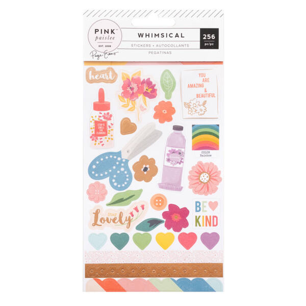 Pink Paislee - Paige Evans Whimsical Sticker Book (256 Piece)
