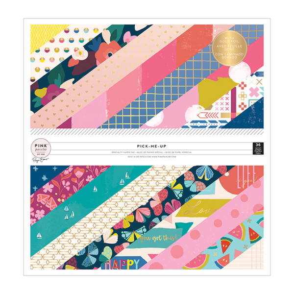 Pink Paislee - Paige Evans - Pick Me Up 12 x 12 Paper Pad