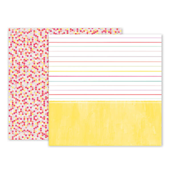 Pink Paislee - Paige Evans - Take Me Away 12 x 12 Double Sided Paper - 12
