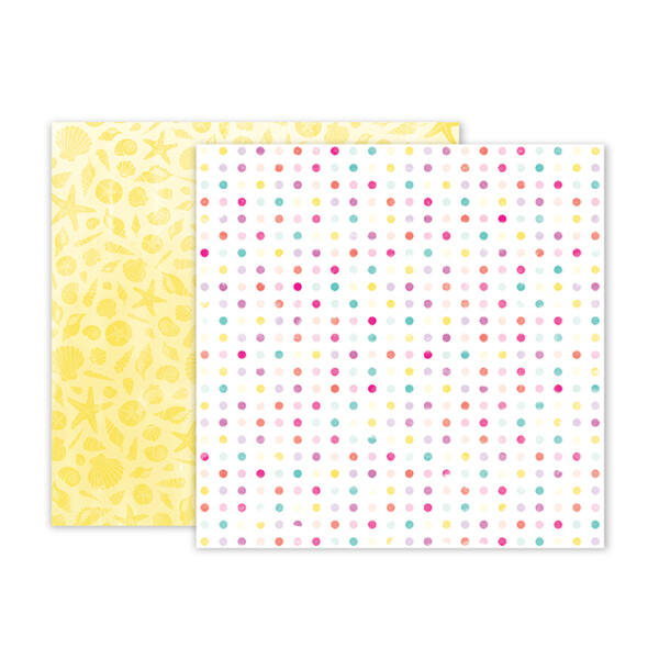 Pink Paislee - Summer Lights 12x12 Double Sided Paper - 03