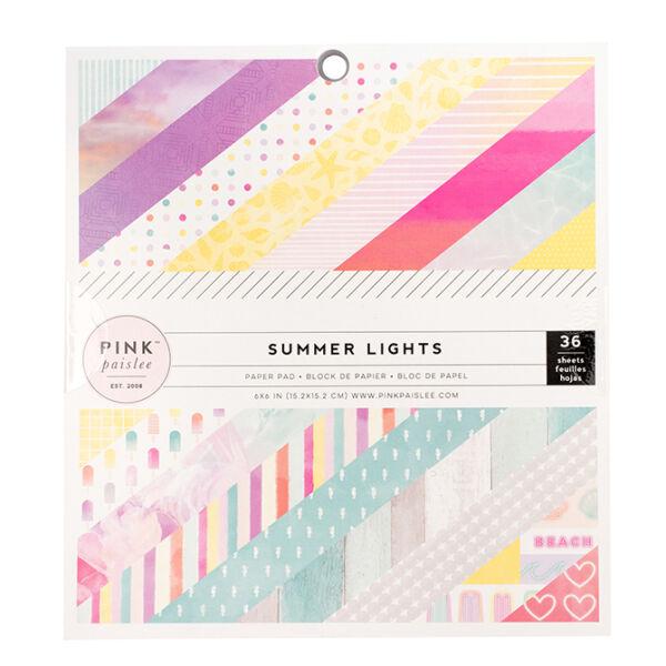 Pink Paislee - Summer Lights 6x6 Paper Pad