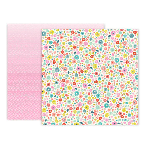 Pink Paislee - Paige Evans - Turn The Page 12x12 Paper - 18
