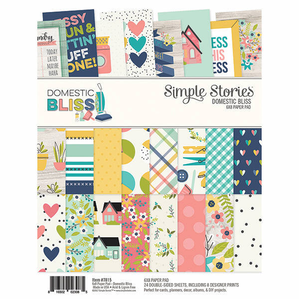 Simple Stories - Domestic Bliss 6 x 8 Paper Pad
