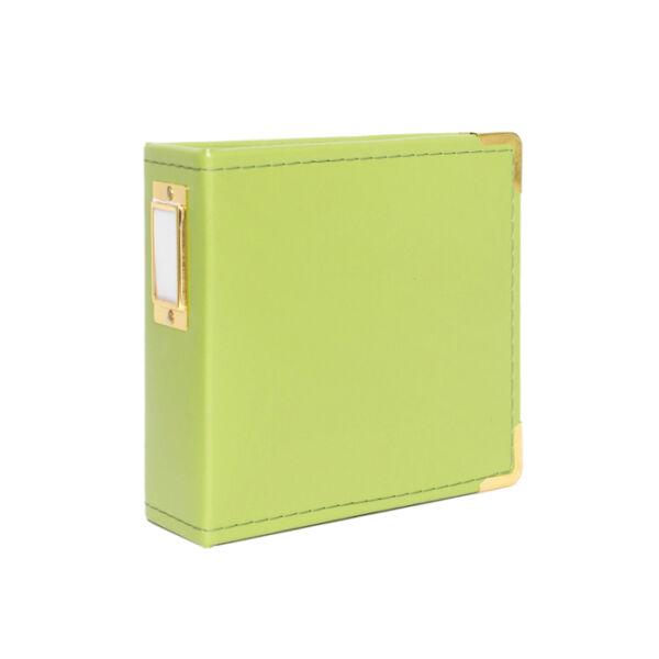 Studio Calico Handbooks 4 x 4 Faux Leather - Green