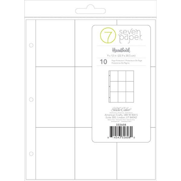 Studio Calico 7Paper Handbooks 9 x 12 Photo Pockets 4x3