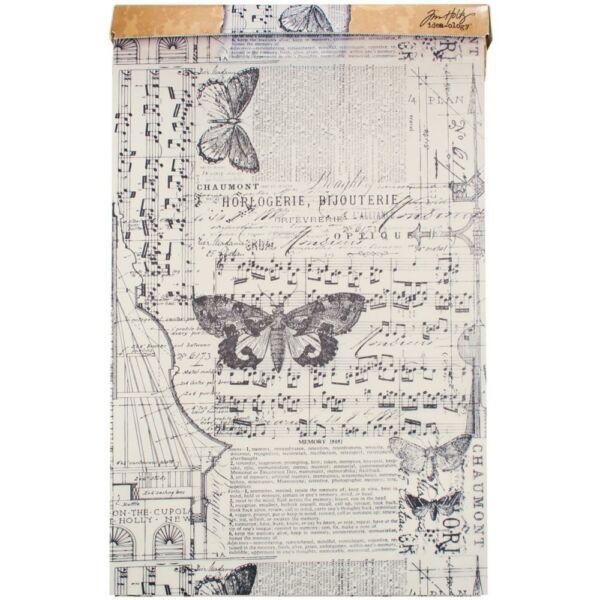 Tim Holtz Idea-Ology Tissue Wrap 30cm x 4,5m - Melange