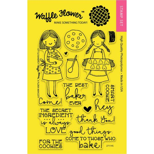 Waffle Flower Clear Stamp - Little Bakers