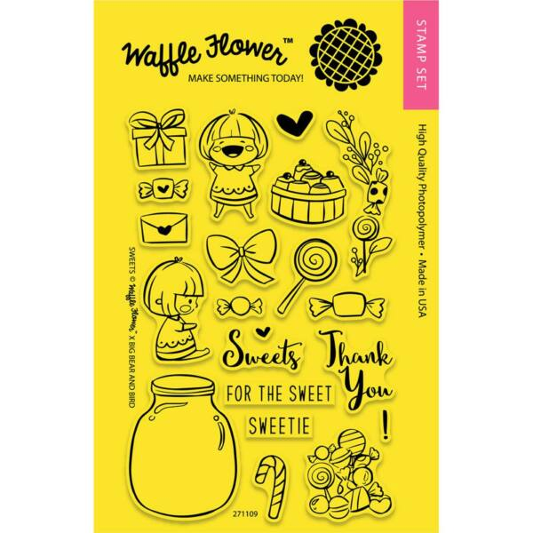 Waffle Flower Clear Stamp - Sweets