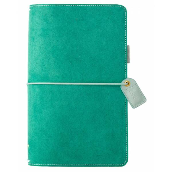Webster's Pages Color Crush Traveler's Notebook Planner - Aspen Green Suede