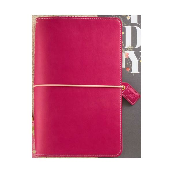 Websters Pages Color Crush Faux Leather Travelers' Planner - Fuchsia