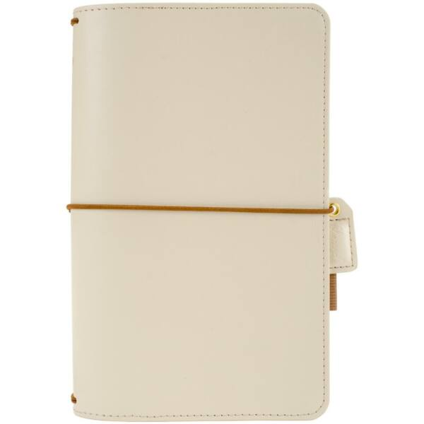 Websters Pages Color Crush Faux Leather Travelers' Planner - Natural