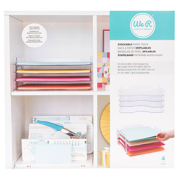 We R Memory Keepers - 12x12 Stackable Paper Trays