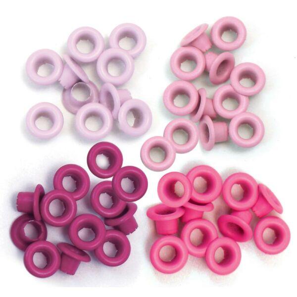 We R Memory Keepers Standard Eyelets - Pink